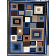Persian-rugs Royal Contemporary Blue Area Rug; 8' x 11'