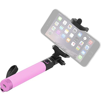 iBower Wireless TRENDi Selfie Stick (Pink) (IBO-BTM36P)