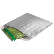 "LUX® Cool Shield Bubble Mailers, 11"" x 15"", Silver, 50ct (BP-INM1115-50)"