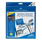 Faber- Castell Creative Studio Getting Started Drawing & Sketching Set