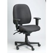 Eurotech Seating 4x4 Chair with Arms; Black
