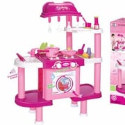 Berry Toys Deluxe Cooking Plastic Play Kitchen