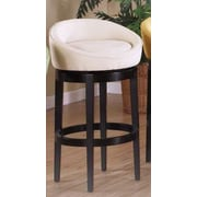 Armen Living Igloo 26'' Swivel Bar Stool; Cream