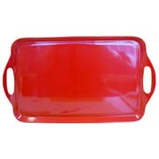 Reston Lloyd Calypso Basics Rectangular Serving Tray; Red