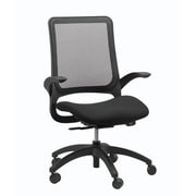 Eurotech Seating Hawk Mesh Office Chair with Arms; Black