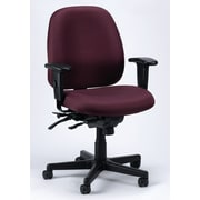 Eurotech Seating 4x4 SL Chair with Seat Slider; Burgundy