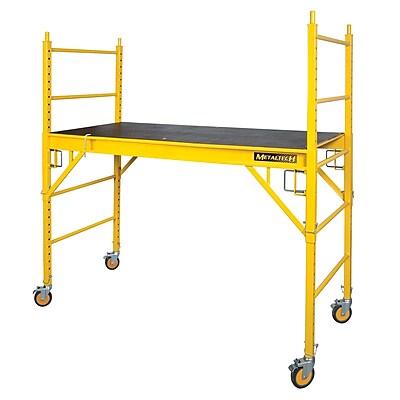 MetalTech Jobsite Series 4.04' H x 70.08'' W x 33.48'' D Steel Perry Style Baker Scaffolding WYF078277156286
