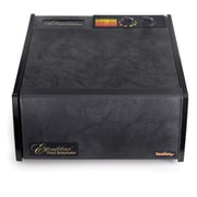 Excalibur 5 Tray Dehydrator with Timer; Black