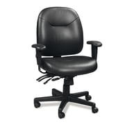 Eurotech Seating 4x4 LE Leather Slider Chair with Arms