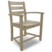 Trex Monterey Bay Dining Arm Chair; Sand Castle