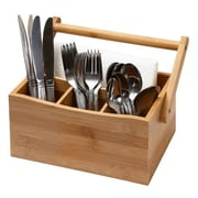 YBM Home Bamboo Utensil Holder