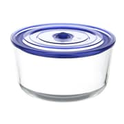 Kinetic Go Green Glasslock Elements 103 Oz. Premier Round Oven Safe Glass Food Storage Container
