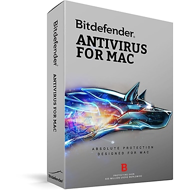 Bitdefender Antivirus For Mac, 3 Users, 2 Year [Download]