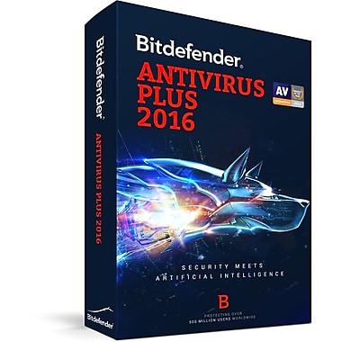 Bitdefender Antivirus Plus 2016, 3 Users, 2 Years [Download]