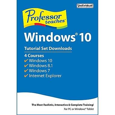 Professor Teaches Windows 10, ensemble de tutoriels [Téléchargement]