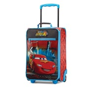 "American Tourister Disney Cars Red 18"" Softside Upright Polyester with Vinyl Front (65774-4429)"