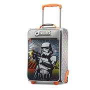 "American Tourister Disney Star Wars Storm Trooper Black 18"" Softside Upright Polyester with Vinyl Front (65774-4608)"