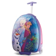 "American Tourister Disney Frozen Pink 16"" Hardside Upright ABS/PC split case shell (65773-4427)"