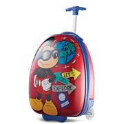 "American Tourister Disney Mickey Mouse Red 16"" Hardside Upright ABS/PC split case shell (65773-4450)"