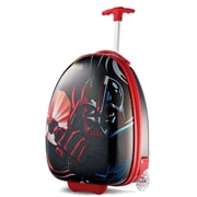"American Tourister Disney Star Wars Darth Vader Black 16"" Hardside Upright ABS/PC split case shell (65773-4572)"
