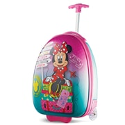 "American Tourister Disney  Minnie Mouse Pink 16"" Hardside Upright ABS/PC split case shell (65773-4451)"