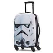 "American Tourister Disney Star Wars Storm Trooper White 21"" Hardside ABS/PC split case shell (65777-4608)"