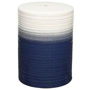 New Pacific Direct Swirl Garden Stool; Blue