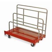 Raymond Products 45.75'' x 30'' x 54'' Coated Heavy Duty Waterfall Panel and Sheet Mover Table Dolly