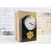 HensonMetalWorks Collegiate Desk Clock; Clemson University