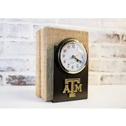 HensonMetalWorks Collegiate Desk Clock; Texas A & M University