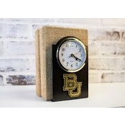 HensonMetalWorks Collegiate Desk Clock; Baylor University