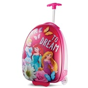 "American Tourister Disney Princess Pink 16"" Hardside Upright ABS/PC split case shell (65773-2093)"