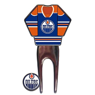 NHL Jersey Divot Tool, Edmonton Oilers