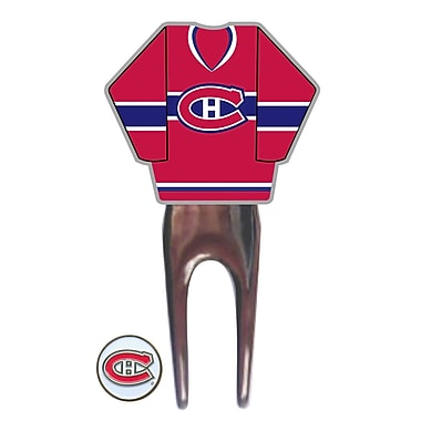 NHL Jersey Divot Tool, Montreal Canadiens