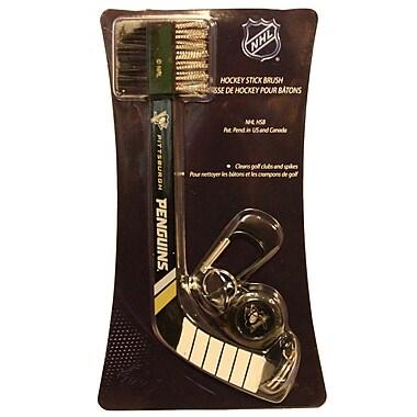 NHL Hockey Stick Dual Club Brush, Pittsburgh Penguins