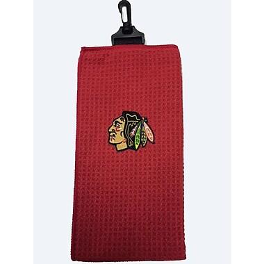 NHL Golf Towel, Chicago Blackhawks