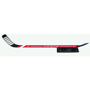 Hockey Stick Winter Brush, Detroit Red Wings