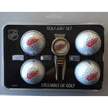 NHL 4 Balls and Divot Tool Gift Set, Detroit Red Wings