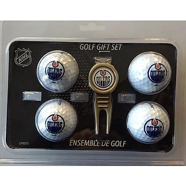 NHL 4 Balls and Divot Tool Gift Set, Edmonton Oilers