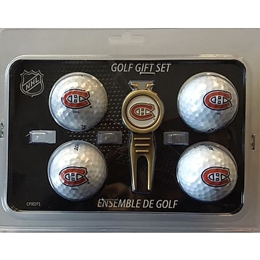 NHL 4 Balls and Divot Tool Gift Set, Montreal Canadiens