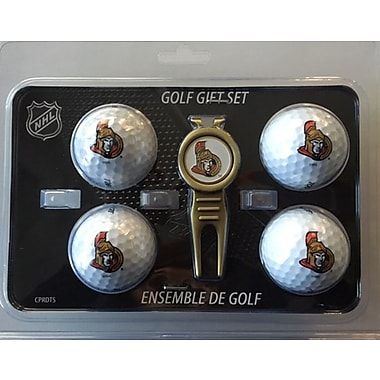 NHL 4 Balls and Divot Tool Gift Set, Ottawa Senators