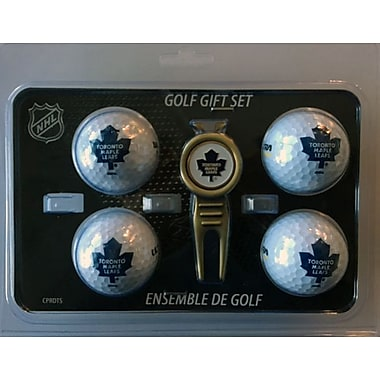 NHL 4 Balls and Divot Tool Gift Set, Toronto Maple Leafs