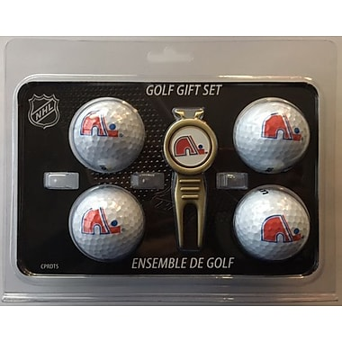 NHL 4 Balls and Divot Tool Gift Set, Quebec Nordiques