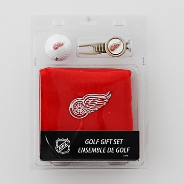 NHL Towel Ball and Divot Tool Gift Set, Detroit Red Wings