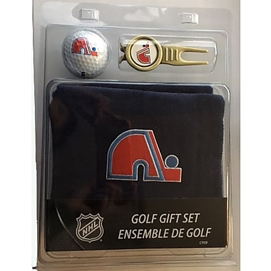 NHL Towel Ball and Divot Tool Gift Set, Quebec Norqiques
