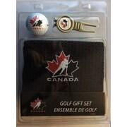 Ensemble-cadeau Serviette, fourchette à gazon et balle de golf, Équipe Canada