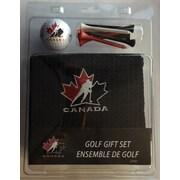 Ensemble-cadeau Serviette, balle et tés de golf, Équipe Canada
