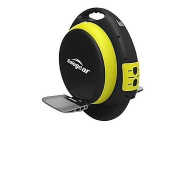 SoloGear Self Balancing Unicycle, G9-35, Black/Yellow