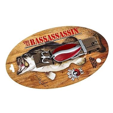 The Bassassassin Fishing Lure Belt, Red