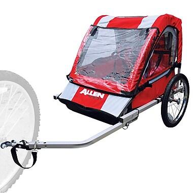 Allen Sports – Remorque d'acier AST2 pour deux enfants, rouge